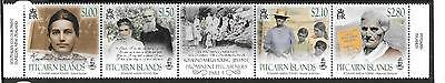 Pitcairn Islands 2017 Amelia Young Strip Mnh