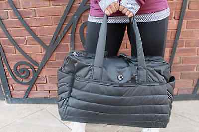 NWT Lululemon Get Lost Duffel Bag Black - Free Shipping