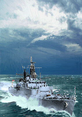 Hms Troubridge - Hand Finished, Limited Edition (25)