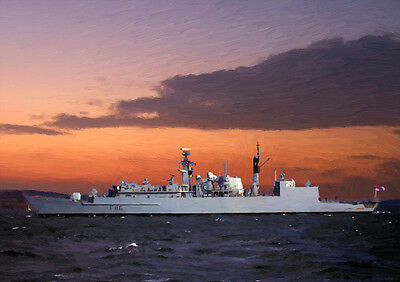 Hms Campbeltown - Hand Finished, Limited Edition (25)