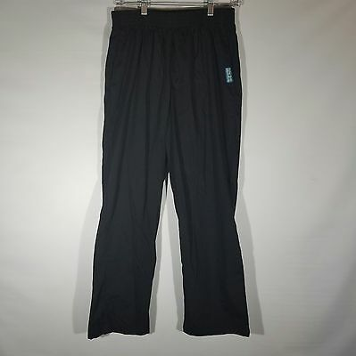 Butter-Soft Scrub Bottoms by UA Women's 2 Pocket Black Stretch Pants Size Medium