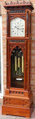 MAPLE & Co MUSICAL TUBULAR REGULATOR MURCURY LONGCASE CLOCK