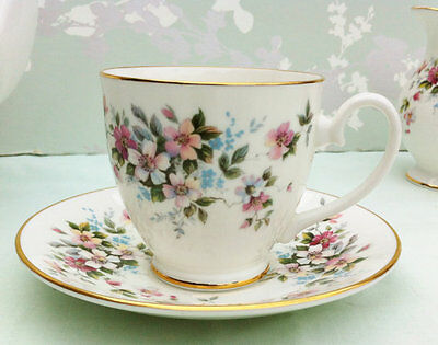 """Royal Grafton """"Summer Melody"""" Demi Tasse Cup and Saucer"""