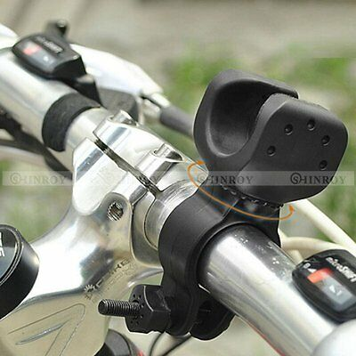 360° Swivel Bicycle Bike Mount Holder Clip Clamp for Led Flashlight Torch