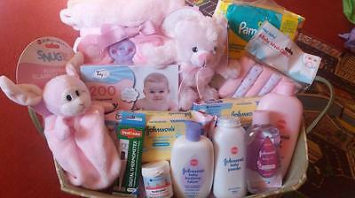 baby new born girls hamper