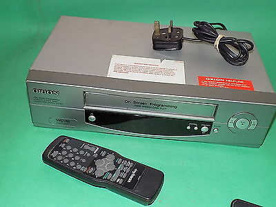 ORION D1050 Video Cassette Recorder VHS VCR Fast to Send FULLY WORKING Silver