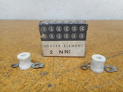 Allen Bradley NN1 Thermal Overload Heater Elements New In Box (Lot of 2)