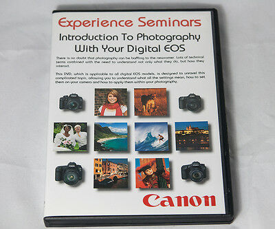 Experience Seminars - Introduction to Photography With Your Digital EOS DVD