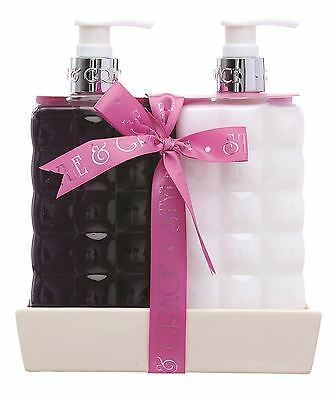 Style & Grace Signature Bath & Body Twinset - Hand Wash and Body Lotion
