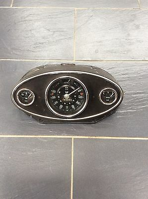 Classic Mini Centre Speedo With Smiths Gauges In GooD See Pics Look
