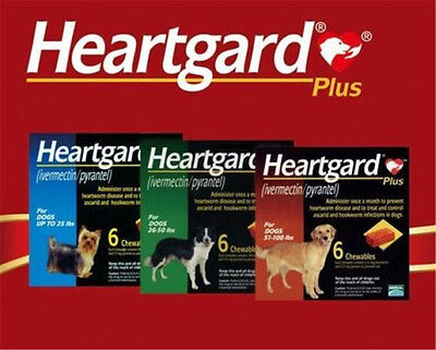 Merial Heart Gard Worming tablets -Wormer, Dewormer  for SMALL/MEDIUM/LARGE Dogs
