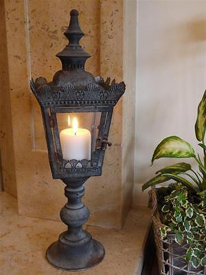 French Antique Style Candle Lantern Candle Shabby Chic Holder Garden Porch Light