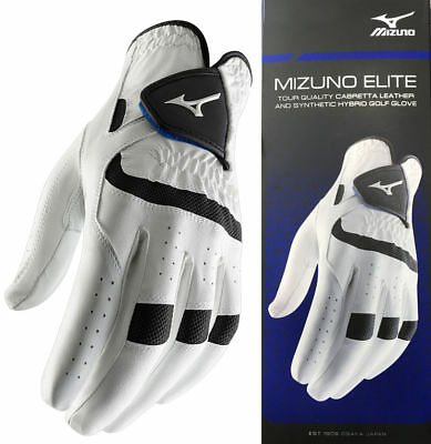 2017 Mizuno Golf Elite Cabretta Leather Golf Glove RRP£16 - LH For RH'ed Golfers
