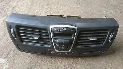 07-12 Renault Laguna Mk3 A/c Heater Control Switch Panel With Air Vent Panel