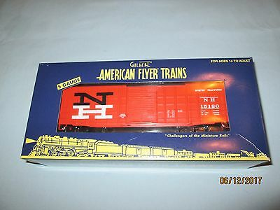 American Flyer by Lionel #6-48856 New Haven Waffle Sided Boxcar. NIB