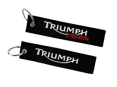 Triumph Tiger double sided key ring