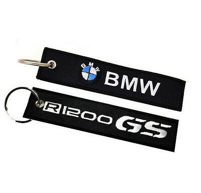 BMW R1200GS double sided key ring