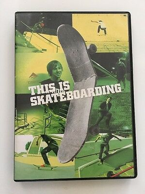 Emerica This Is Skateboarding Stay Gold Wild Ride Reynolds Skate DVD FAST S/H