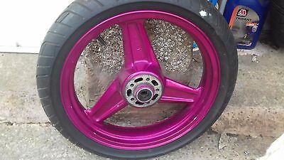 Front and Rear wheels with tyres for Kawasaki Zephyr 750