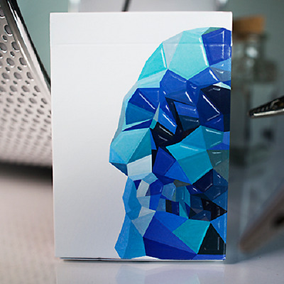 Memento Mori Playing Cards (BLUE) 2nd Edition Deck by Murphy's Magic Supplies