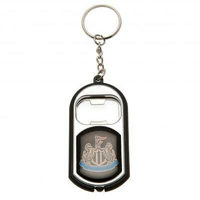 Newcastle United FC Official Torch Bottle Opener Keyring Brand New
