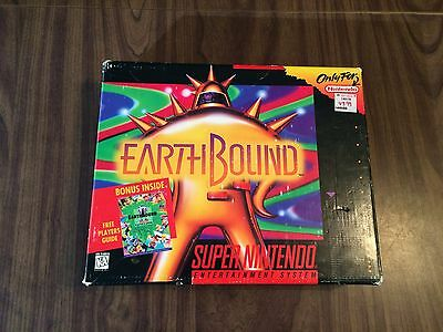 Earthbound (Super Nintendo, SNES) -- Large Outer Box -- No game -- Has wear