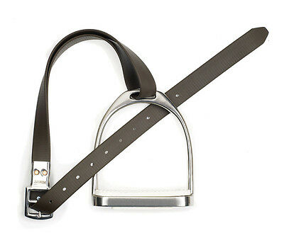 NEW Wintec Slimline Synthetic Stirrup Leathers, Black or Brown