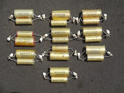 Lot of Western Electric Capacitors