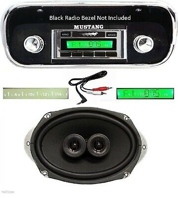1969-1970 Ford Mustang Radio w/ Dash Speaker AUX Cable Stereo 230 **