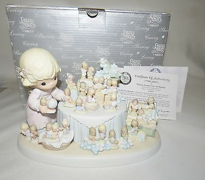 Precious Moments From The Beginning 110238 25th Anniversary Limited Edition