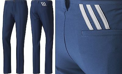 2017 Adidas Golf Ultimate 365 Tapered 3 Stripe Performance Golf Trouser RRP£60