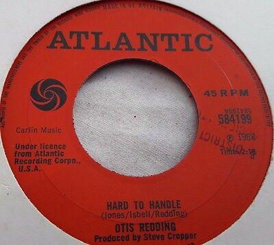 "Otis Redding ‎– Hard To Handle / Amen 7"" soul vinyl"