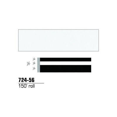 3M Scotchcal Striping Tape, Bright White, 1/2 in. x 150 ft. 72456 new