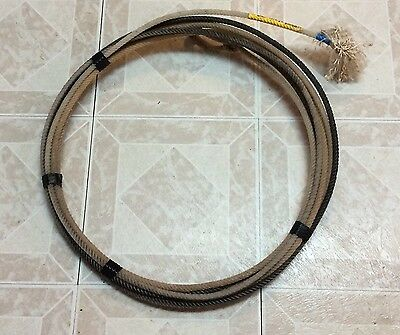 Cactus Ropes Mojo Heel #3 Hard Med 36' Lasso Lariat Rodeo Rope Decoration
