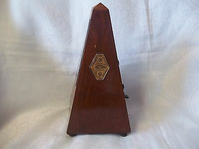 Antique French Metronome by Maelzel Paquet with Bell (1815-1846)