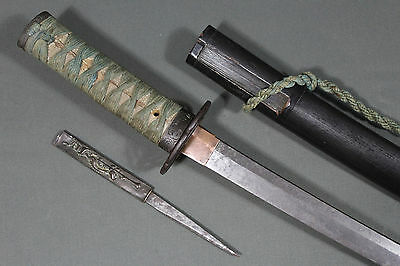 Antique Japanese wakizashi sword - Japan
