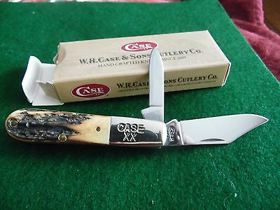 Case Xx 1998-52009 1/2 Stag Barlow New In The Box