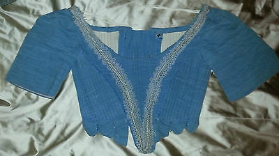Vintage Corset, Boned Shakespearean,Theatre. S-M. LARP, Re-Enactment, LOTR, GoT.