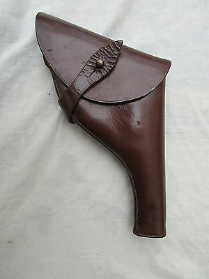 British Officers leather Sam Browne holster