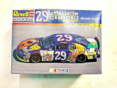 Revell 1998 NASCAR Cartoon Network #29 Scooby Doo Monte Carlo 1:24 Model Kit EUC