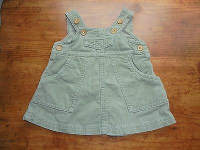 Old Navy Baby Girl Skirt Olive Green Corduroy Size Newborn 0-3 months Clothes