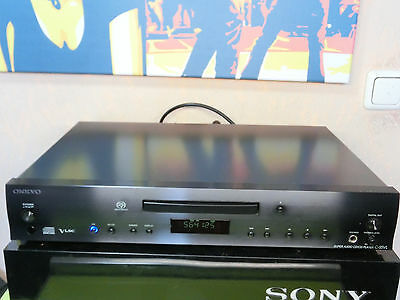 Onkyo C-S5VL High End SACD Super Audio CD Player + Fernbedienung