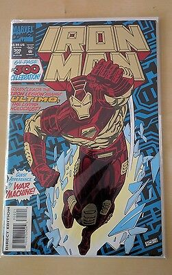Iron Man #300 Celebration special foil issue 64 pages Marvel Tony Stark