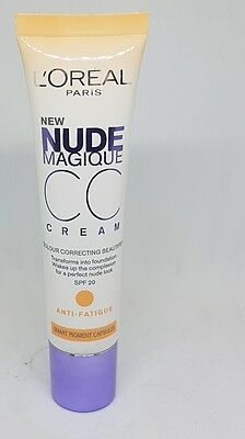 LOreal Paris Nude Magique CC Cream - 30 ml, Anti-Fatigue