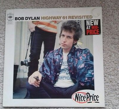 BOB DYLAN  'HIGHWAY 61 REVISITED   vinyl album  label error rare copy  UK press