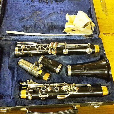 Buffet B12 Bb Clarinet, Fully Working With Yamaha 6C Mouthpiece, RRP £400