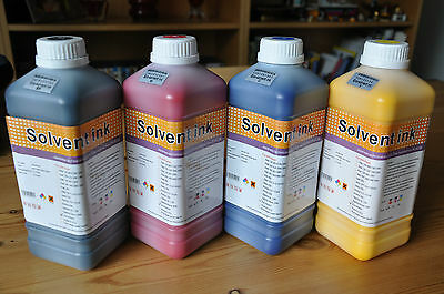 Eco Solvent Ink For Roland, Mimaki, Mutoh-EpsonDX4/5/7(CMYK+Cleaning solution)