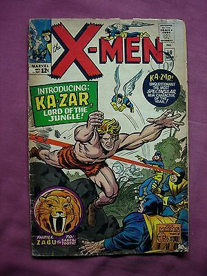 The X-Men #10 March 1965 Marvel Comics 1963 Series Silver Age Cents Copy Fair