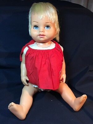 Chatty Baby Vintage Doll 1962 Does NOT talk