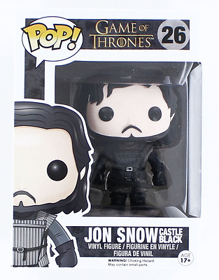 Jon Snow Pop Vinyl Castle Black Game of Thrones Collectible Character Figure UK